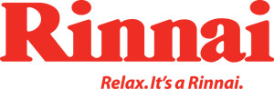 Rinnai Electric and Gas Hot Water Systems Logo