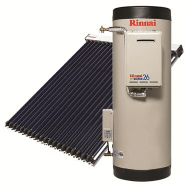 Rinnai_Solar_Prestige_Evacuated-Tube-System