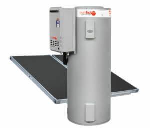 Everhot-solar-gas-boosted-hot-water-heater