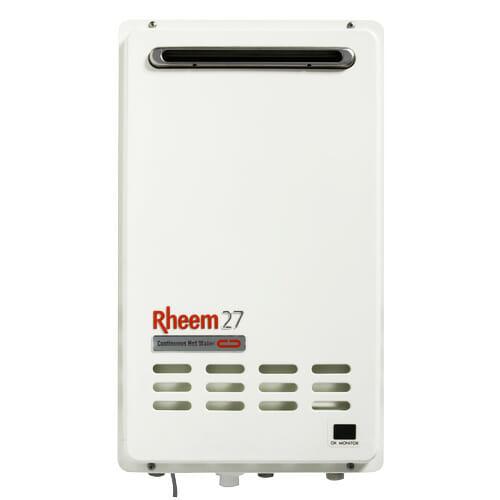 Rheem 27L hot water heater