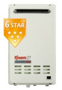 Rheem 27L Continuous Flow Hot Water Systems