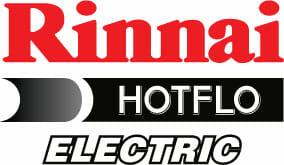 Rinnai Hotflo Electric Hot Water Systems Logo