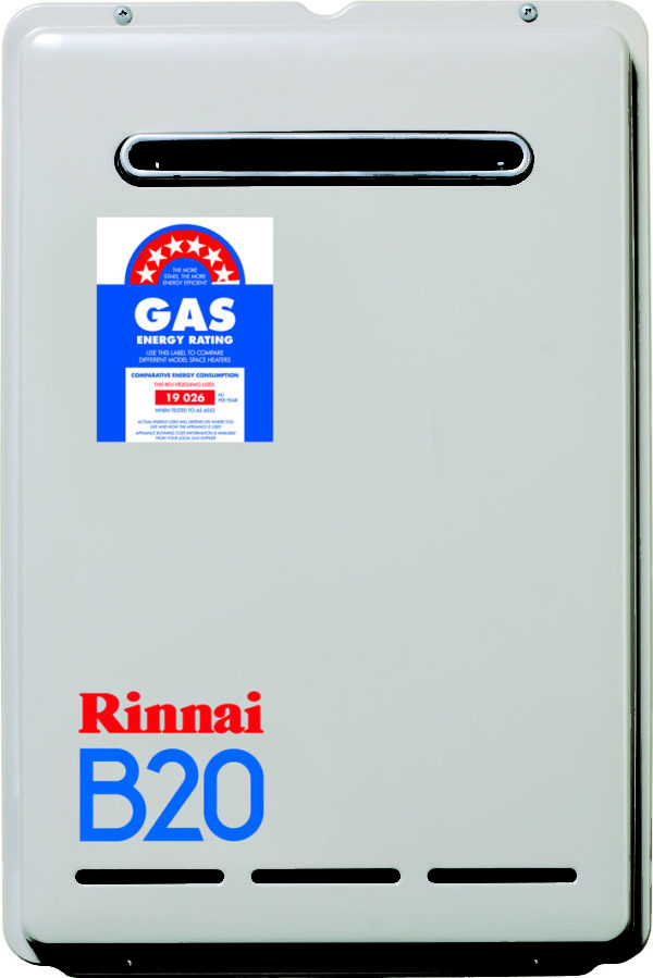 Rinnai 20L Continuous Flow Hot Water Systems