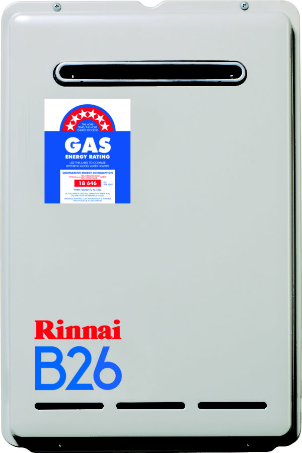 Rinnai 26L Continuous Flow Hot Water Systems