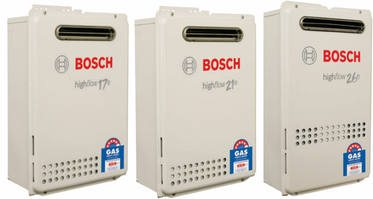 Bosch Hot Water Systems Same Day Hot Water Service