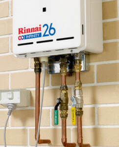 Rinnai Continuous Flow Infinity Security Brackets