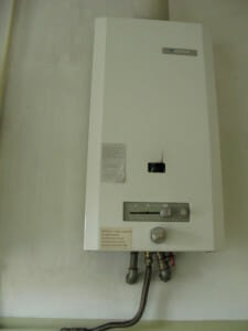 Junkers instantaneous hot water heater