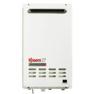 Rheem 27L hot water heater