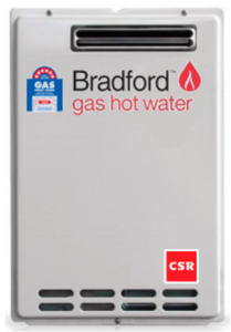 CSR/ Bradford Continuous Flow Hot Water System