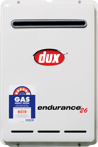 Continuous Flow Dux Endurance 26 hot water system