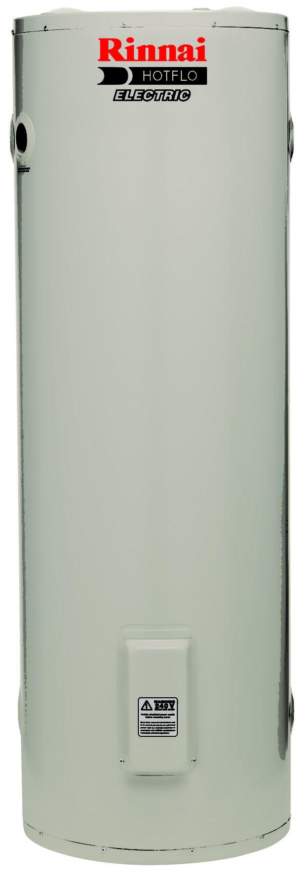 160L Rinnai Electric Hotflo Twin element heater