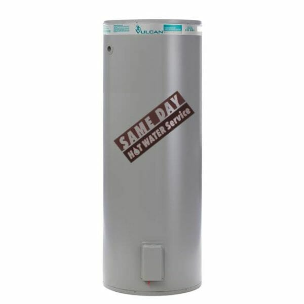 Vulcan 400L Twin Element Electric hot water heater