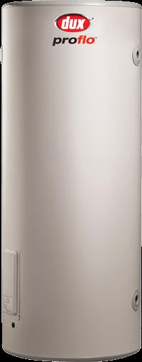 Dux 250 litre proflo hot water system