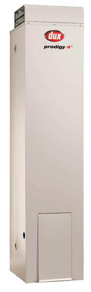 Dux 170 litre external gas hot water heater