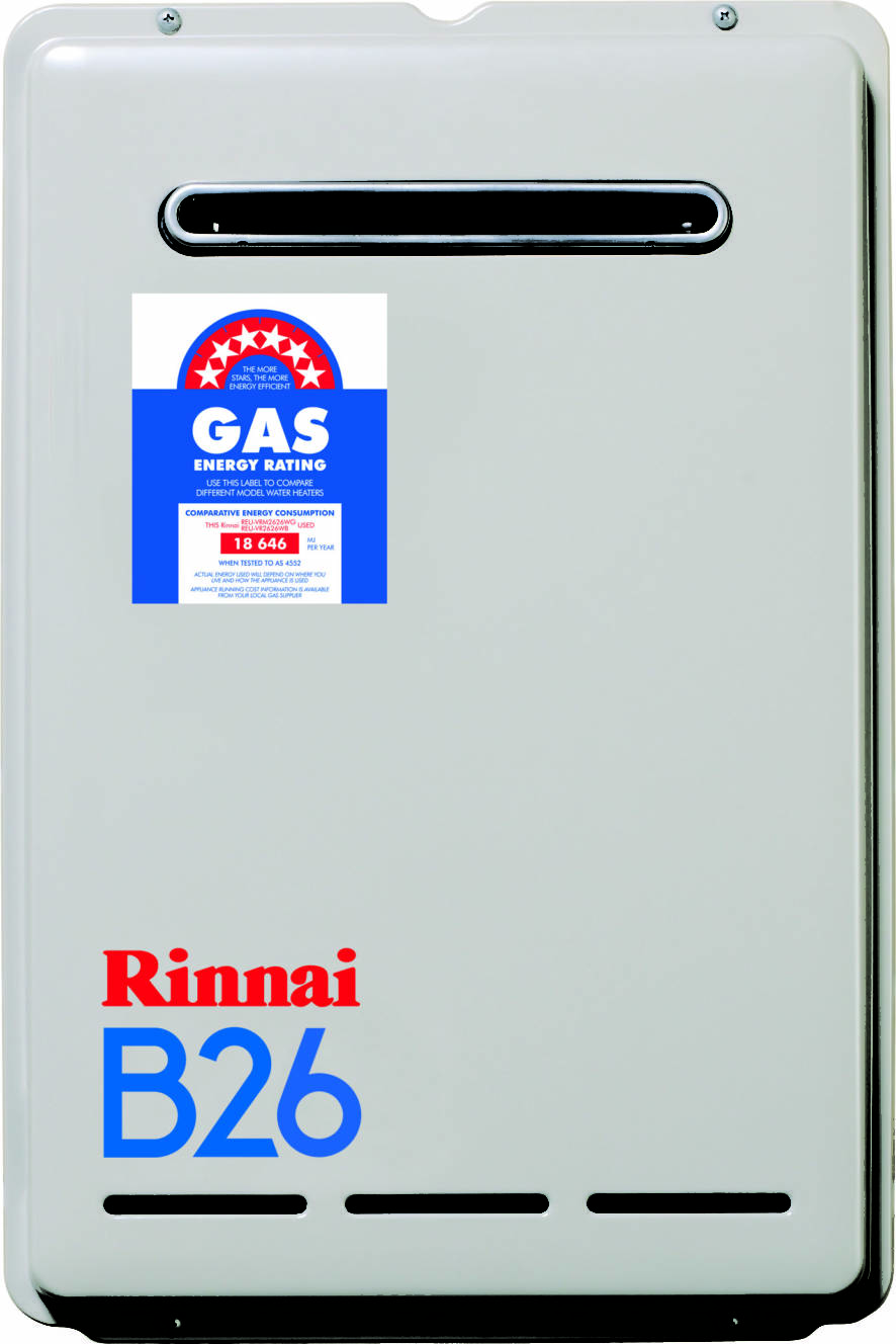 Rinnai Builder Series 26 Litre Continuous Flow Hot Water Heater