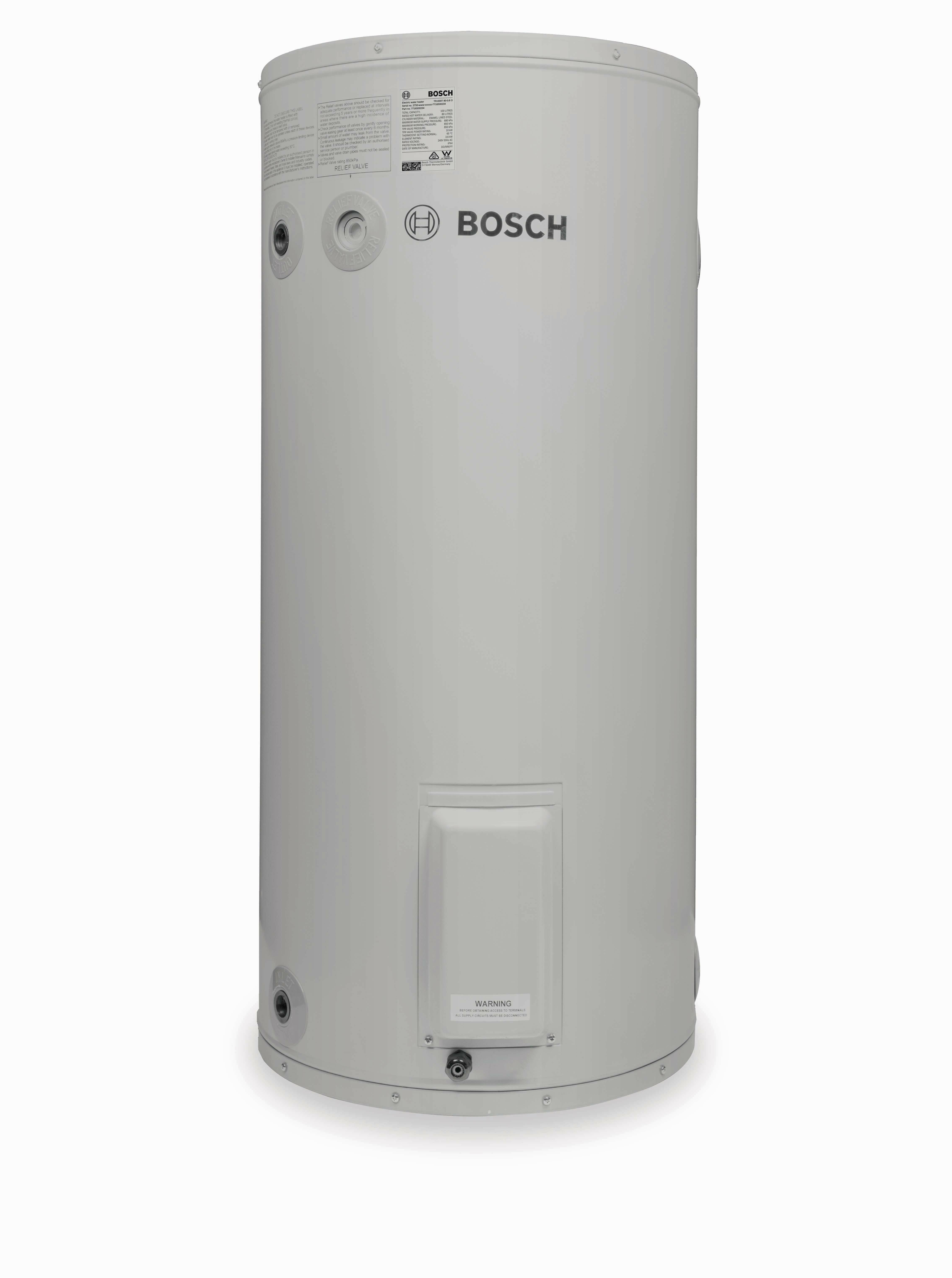 Electric Hot Water Heater >> Bosch 80 Litre